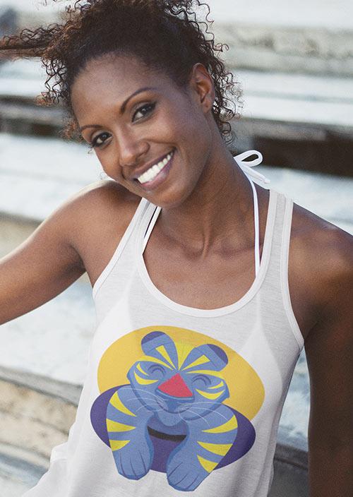 Tee-shirts femmes - Zoizo Moqueur - Île de la Réunion - Île Intense - 974
