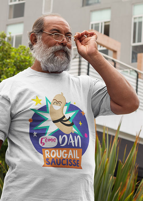 Tee-shirts Homme - Zoizo Moqueur - Île de la Réunion - Île Intense - 974